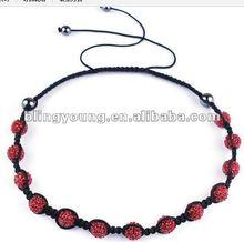 2012 fashion shamballa necklace wholesale BY-1151