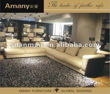 Fashion large sectional fabric sofa(A9778)