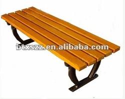cast iron wood bench