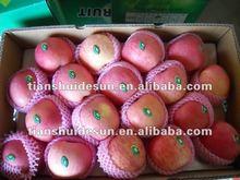 2012 Red Chinese fuji apple(Thin skin,thick,crispy,juicy,sweet)