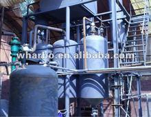 Olio usato motore di apparecchi di distillazione di gasolio con capacità di 5-30tons al giorno