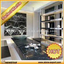 Newstar beauty black marble coffee tables