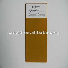 gold epoxy polyester powder coating