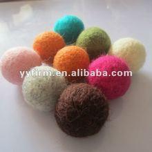 Wool felt decoration balls!Fashion handmade colorful felt wool woven balls for jewelry&decoration!Paypal!
