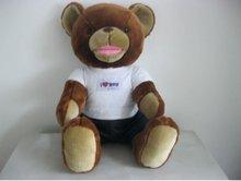 custom stuffed plush talking teddy bear toys