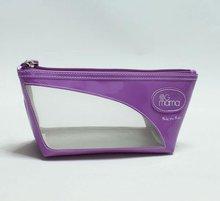 2012 latest designer high quality shiny pvc cosmetic bag