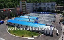 ISO9001:2000 prefab villa house/home