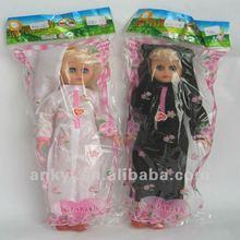 HOT plastic muslim fulla doll