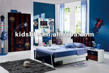 Children Wooden Bedroom Furniture Sets 2012 Sports Design Y350-1