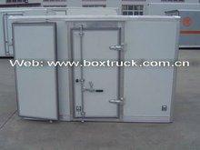 coated steel dry van truck cargo body