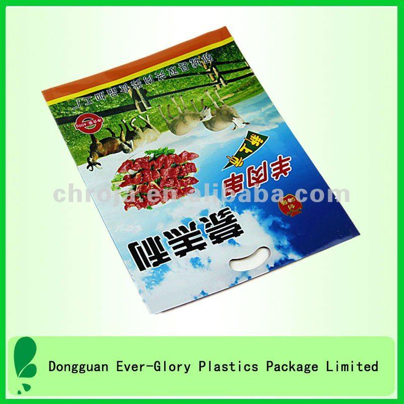 FDA grade chicken leg plastic food packaging pouch bags