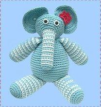 knitting machine toys,crochet elephant