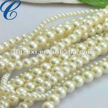 Vintage Off white pearl bead
