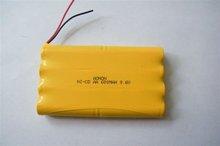 2012 NI CD AA 600mAh 9.6V R/C toy battery