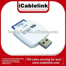 2012 multi-functional 3 in 1 usb 3.0 card reader