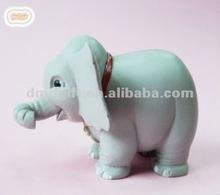 Plastic zoo animal figure/elephant figurine