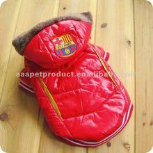 Fashionable winter dog coat , dog clothes pet clothes