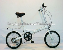 2012 hot selling good quality portable folding bicycle
