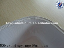 aluminum foil container(white food baking polyester,Aolly 8011 HO)