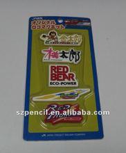 2D childrens stationery sets eraser rubber