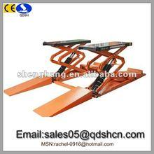 3500kg 1800mm Hydraulic Small scissor lift/Cheap car ramp/Portable car hoist/Garage equipment for car washing QDSH-S3518B
