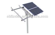 Solar pole mounting bracket