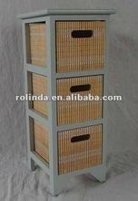 high-grade multi wicker drawer cabinet