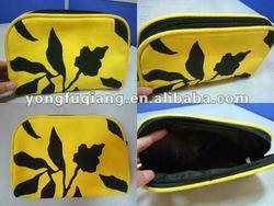 Yellow flower good canvas phone bag