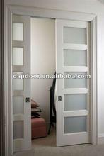 American Style Pocket Door Designs Partition DJ-S424