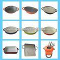 Ferro fundido panela quente, esmalte caçarola utensíliosdecozinha