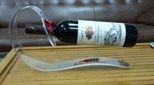 Fantastic acrylic/ plexiglass wine bottle holder