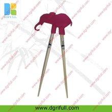 cartoon silicone decorative chopsticks as a gift