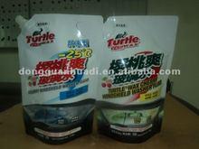 aluminum foil doypack spout packing pouch for automobile gasoline