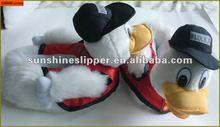 Hotsale animal duck slippers, animal shaped slipper animal shoes, 3D design