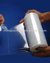 2014 High quality! Transparent PVC Stretch Film