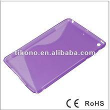 S design tpu case for ipad mini,sofe case for apple ipad mini 7 inch
