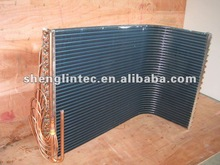 High Efficiency Blue Fin U-shape Heat Exchanger For Air Handling Unit