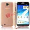 For Samsung Galaxy Note 2 Back Cover / Ultra Slim 0.3mm Simple Style Hard Plastic Back Cover for Samsung Galaxy Note 2 N7100