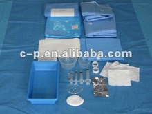Disposable Nonwoven EO Sterilized eye packs for ophthalmic surgerywith free sample