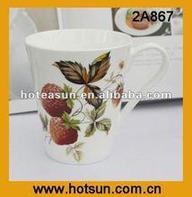 2012 Durable Popular&Elegant Fine Bone China Ceramic Tea Coffee Mug 2A867