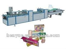 HY-800 box making machine/folde and gluer