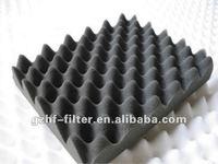 egg crate expanded PU foam sheet