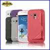 S Line Wave TPU Gel Case for Samsung Galaxy S3 mini i8190,Wave Soft Gel Case Cover---Laudtec