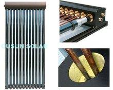 OUSUN all glass evacuated tube u-pipe solar collector