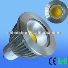 Hot Sale 700lm 6W LED COB Bulb GU10 in HK Light Fair