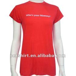 Wholesale fashion printing logo maternity clothes