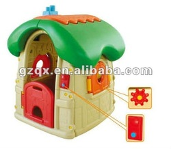 Strong recommend !! kids cubby houses with door bell for sale QX-11123C