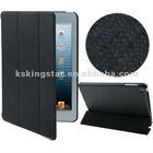 hot-selling 3-fold muti-color magnetic smart case cover for Apple iPad Mini