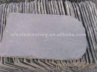 Natural grey roof slate tile