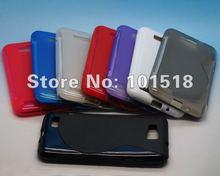 New Soft Crystal Gel S Line tpu Case for Samsung ATIV S i8750
